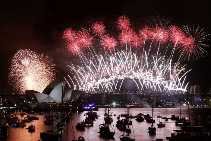 Australia fireworks exciting time marketing
